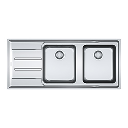 Aton | ANX 221 | Stainless Steel | Sinks