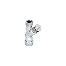 Filter for angle valve