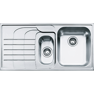 Zodiaco | ZOX 651 | Stainless Steel | Sinks