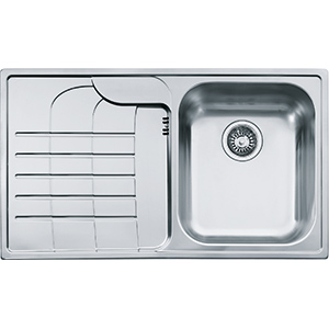 Zodiaco | ZOX 614 | Stainless Steel | Sinks