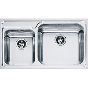 Galassia | GAX 620 | Stainless Steel | Sinks
