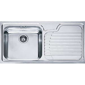 Galassia | GAX 611 | Stainless Steel | Sinks