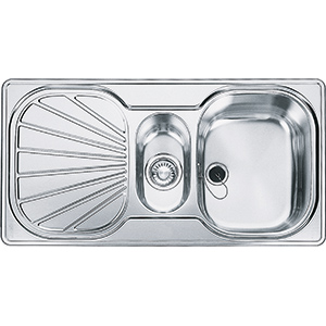 Erica | EUX 651 | Stainless Steel | Sinks