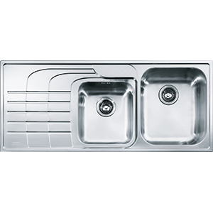 Zodiaco | ZOX 621 | Stainless Steel | Sinks