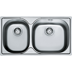 Geneva | GEX 620D | Stainless Steel | Sinks