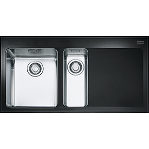 Kubus | KBV 651 | Glass black | Sinks