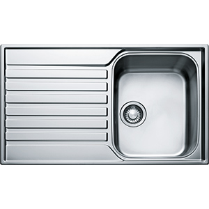 Ascona | ASX 611 | Stainless Steel | Sinks