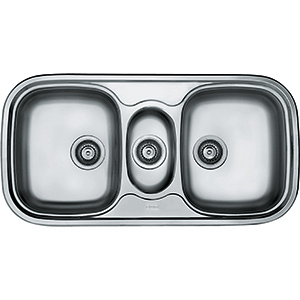 Quinline | QLX 670 | Stainless Steel | Sinks