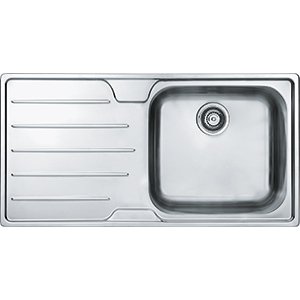 Ibis | SSX 611 | Stainless Steel | Sinks
