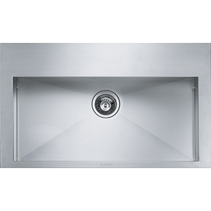Planario | POX 610 | Stainless Steel | Sinks