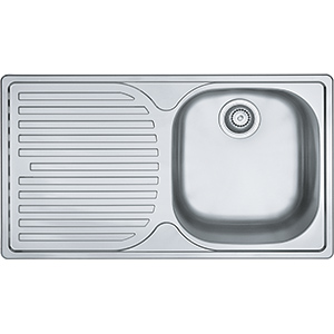 Pacific | PFX 611 B | Stainless Steel | Sinks