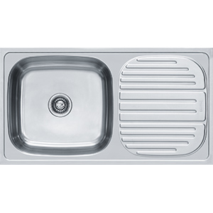 Omni | OMH 611 | Stainless Steel | Sinks