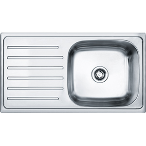 Omni | AYX 611 | Stainless Steel | Sinks