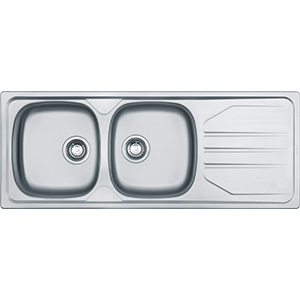 Nouveau | NVN 621 | Stainless Steel | Sinks