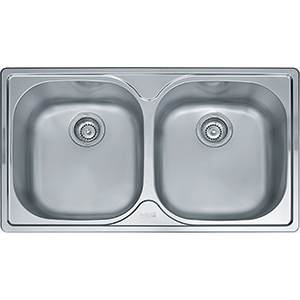 Pacific | PFX 620 B | Stainless Steel | Sinks