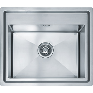 Vela (Carron) | VLX 610-50 | Stainless Steel | Sinks