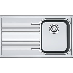 Smart | SRX 611-86 | Stainless Steel | Sinks
