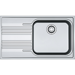 Smart | SRX 611-86 LB | Stainless Steel | Sinks