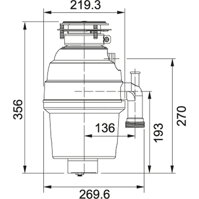 Waste disposers   TP-50