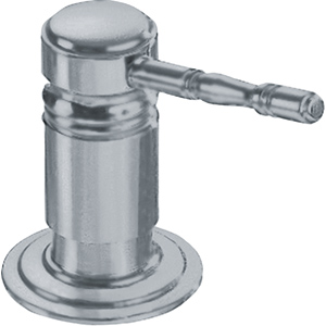Soap dispenser | SD-180 | Satin Nickel
