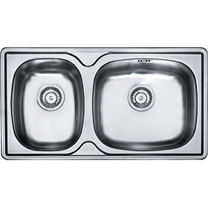 Lausanne | LNX 620D | Stainless Steel | Sinks