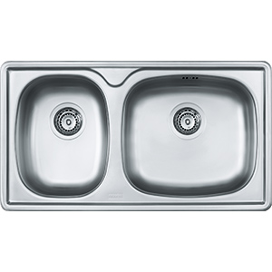 Lucerne | LCX 620D | Stainless Steel | Sinks