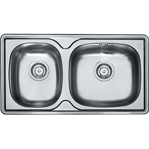 Lausanne | LNX 620E | Stainless Steel | Sinks