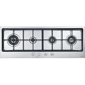 Neptune | FHNE 1204 3G TC XS C | Stainless Steel | Hobs