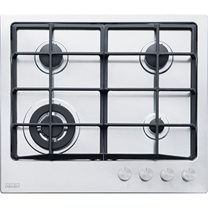 Neptune | FHNE 604 3G TC XS C | Stainless Steel | Hobs