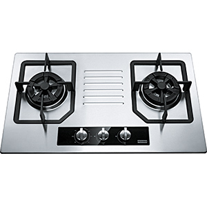 Bi Gas Hob | P0912M | Stainless Steel | Cooking Hobs