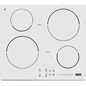 Induction | FH 604-1E 4I T PWL WH | Glass White | Cooking Hobs