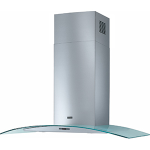 Glass Curved | FGC 906 XS-CH | Stainless Steel-Glass | Hoods