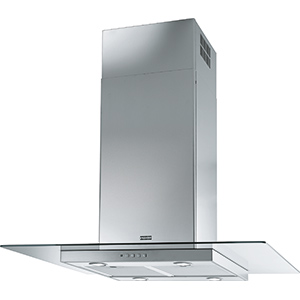 Glass Linear | FGL 900 I | Inox / Verre | Hottes