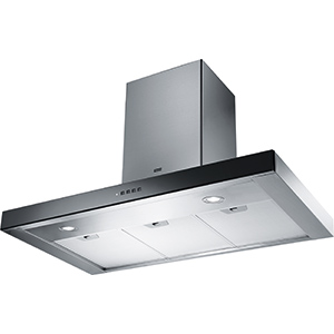 Crystal Soft Touch | FCR 905 BK XS | Stainless Steel-Black | Hoods