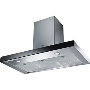 Crystal Touch | FCR 925 TC BK XS | Stainless Steel-Black | Hoods