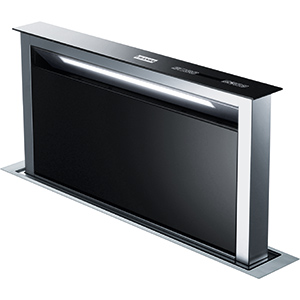 Downdraft | FDW 908 IB XS | Acero Inoxidable - Negro | Campanas