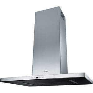 Maris T-Shape | FGB 906 IS AC | Stainless Steel-Glass Black | Hoods