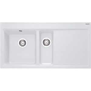 Mythos | MTG 651-100 | Fragranite Polar White | Sinks