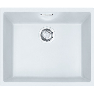 Sirius | SID 110-50 | Tectonite Polar White | Sinks