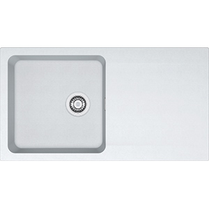 Orion | OID 611-94 | Tectonite Polar White | Sinks