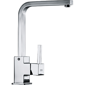 Enix Square | Swivel | Chrome | Sink Mixers