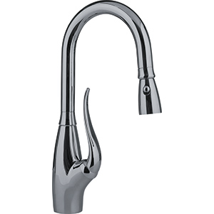 Tulip | FFBP2480R | Satin Nickel | Faucets