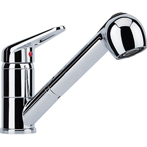 Novara Plus | Pull Out Spray | Chrome | Taps