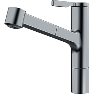Frames by Franke | TOP LEVER PULLOUT SPRAY FS TL SP DS | Decor Steel | Taps