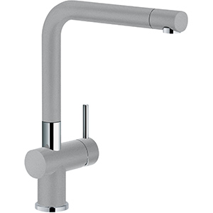 Active Plus | Bec orientable | Chrome / Gris pierre | Mitigeurs