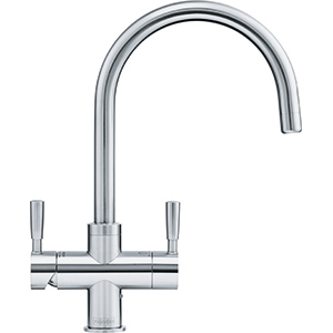 Omni 4-in-1 Tap | Omni | Stainless Steel | Instant boiling water taps
