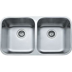 Steel Queen | SQX 120 D-2 | Stainless Steel | Sinks