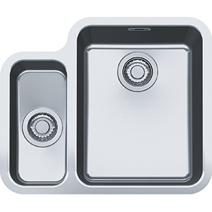 Hydros | HDX 160 34-15 | Stainless Steel | Sinks