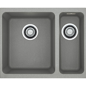 Kubus | KBG 160 | Fragranite Stone Grey | Sinks