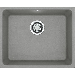 Kubus | KBG 110 50 | Fragranite Stone Grey | Sinks